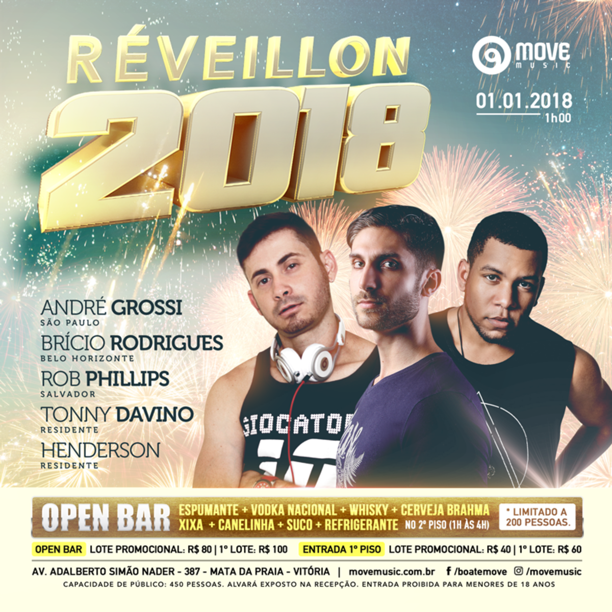 Reveillon Move Music 2018