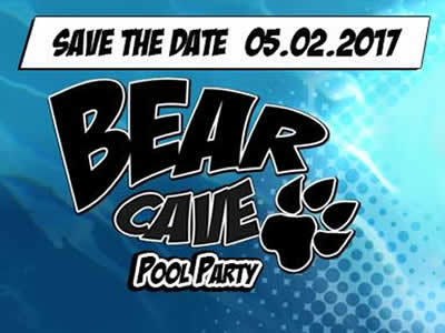 Bear Cave Pool Party